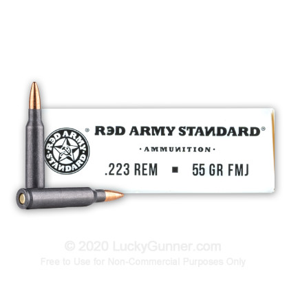 Image 2 of Red Army Standard .223 Remington Ammo