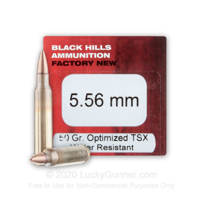 Image 1 of Black Hills Ammunition 5.56x45mm Ammo