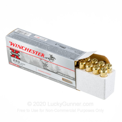 Image 3 of Winchester .243 WSSM Ammo