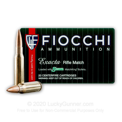 Image 2 of Fiocchi .308 (7.62X51) Ammo