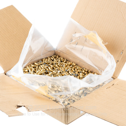 Large image of Bulk 9mm Bullets For Sale - 124 Grain Full Metal Jacket Bullets in Stock by Armscor - 2000 Bullets