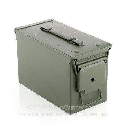 Large image of Cheap 50 Cal Green Brand New M2A1 Ammo Cans For Sale