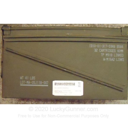 Large image of Surplus 40 mm Ammo Cans For Sale