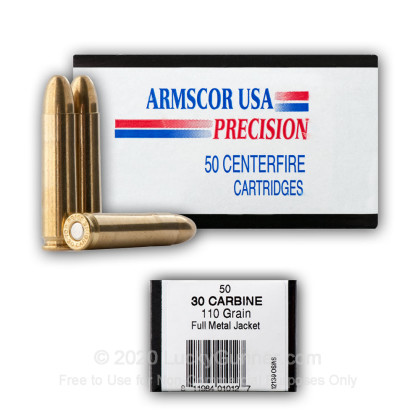 Image 5 of Armscor 30 Carbine Ammo
