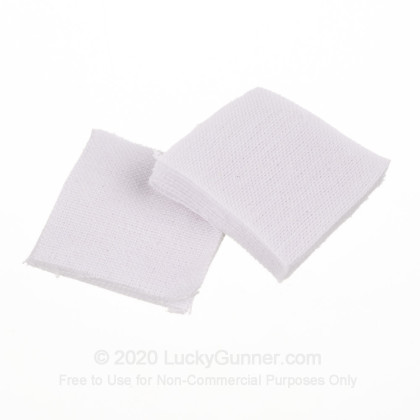 Large image of Bulk Hoppe's Cotton Patches for Sale - .270-.35 - Hoppe's Cleaning Patches For Sale - 650 Patches