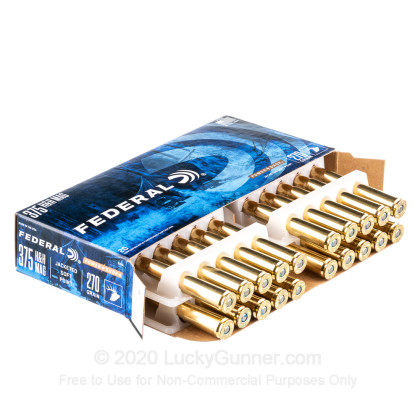 Image 3 of Federal .375 H&H Magnum Ammo