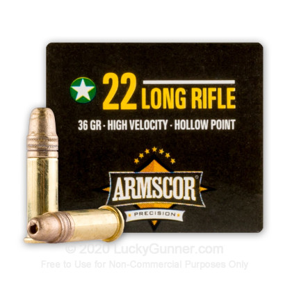 Image 2 of Armscor .22 Long Rifle (LR) Ammo