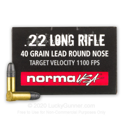Image 1 of Norma .22 Long Rifle (LR) Ammo