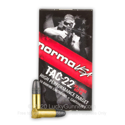Image 2 of Norma .22 Long Rifle (LR) Ammo