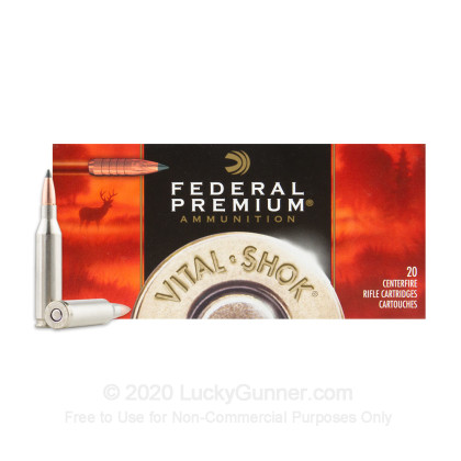 Large image of Premium 243 Win Ammo For Sale - 85 Grain Trophy Copper Ammunition in Stock by Federal - 20 Rounds
