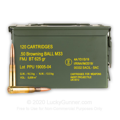 Image 1 of Prvi Partizan .50 BMG Ammo