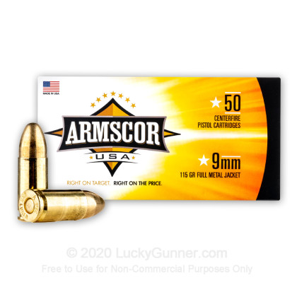 Image 1 of Armscor 9mm Luger (9x19) Ammo