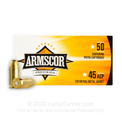 Image 2 of Armscor .45 ACP (Auto) Ammo