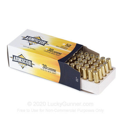Image 3 of Armscor 30 Carbine Ammo