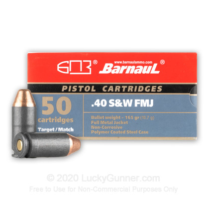 Image 1 of Barnaul .40 S&W (Smith & Wesson) Ammo