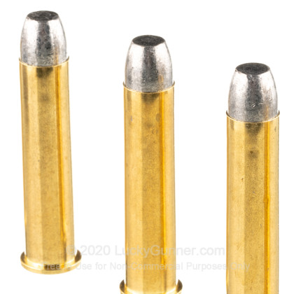 Large image of Bulk 45-70 Government Ammo For Sale - 405 Grain LRN FP Ammunition in Stock by Fiocchi - 200 Rounds