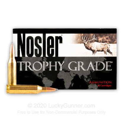 Large image of Premium 243 Win Ammo For Sale - 85 Grain PSP Ammunition in Stock by Nosler Custom - 20 Rounds