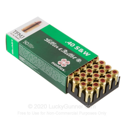 Image 3 of Sellier & Bellot .40 S&W (Smith & Wesson) Ammo