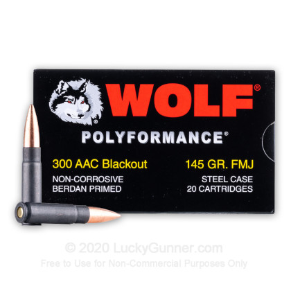 Image 1 of Wolf .300 Blackout Ammo