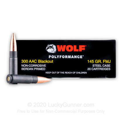 Image 2 of Wolf .300 Blackout Ammo