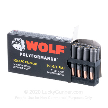 Image 3 of Wolf .300 Blackout Ammo