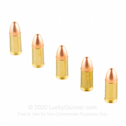 Image 3 of Blazer Brass 9mm Luger (9x19) Ammo