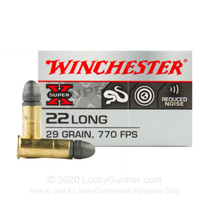 Image 1 of Winchester .22 Long Ammo