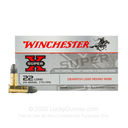 Image 2 of Winchester .22 Long Ammo