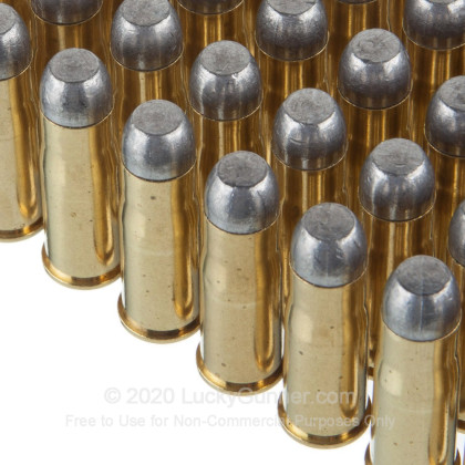 Large image of Premium 38-40 Ammo For Sale - 180 Grain LFN Ammunition in Stock by Black Hills - 50 Rounds