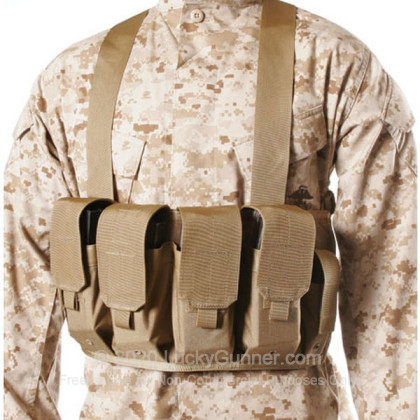 Large image of Chest Pouch - Magazine Carrier - M16/M4 - Blackhawk - Coyote Tan For Sale