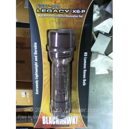 Large image of Flashlight - Night Ops Legacy X6-P - Coyote Tan - Blackhawk For Sale