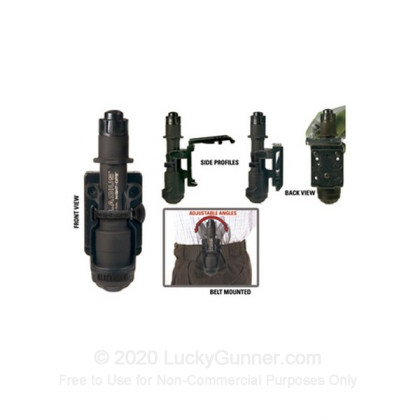 Large image of Flashlight Holder - Night Ops - Mod-U-Lok - Black - Blackhawk For Sale