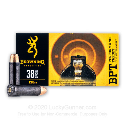 Image 2 of Browning .38 Special Ammo