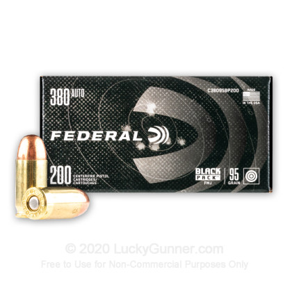 Image 2 of Federal .380 Auto (ACP) Ammo