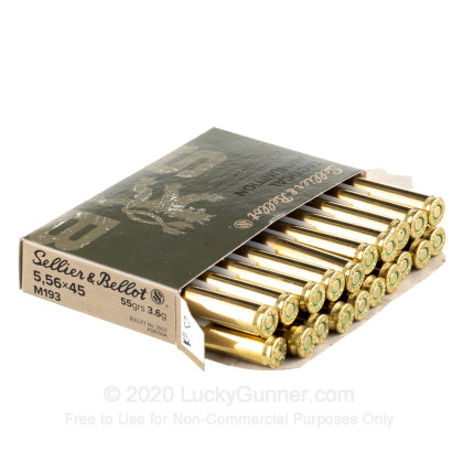 Image 3 of Sellier & Bellot 5.56x45mm Ammo