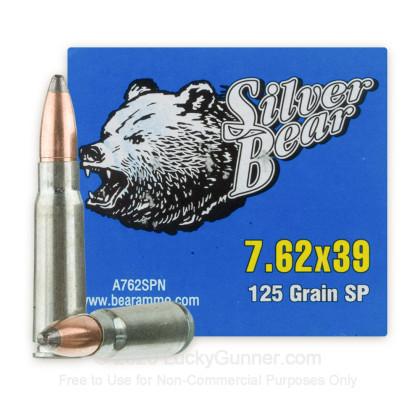 Image 2 of Silver Bear 7.62X39 Ammo