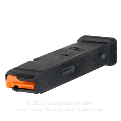 Large image of Premium 9mm Magazine For Sale - 10 Round 9mm Magazine in Stock by Magpul for Glock 17 - 1 Magazine