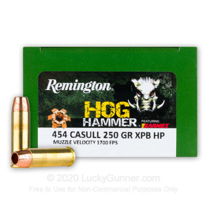 Image 1 of Remington 454 Casull Ammo
