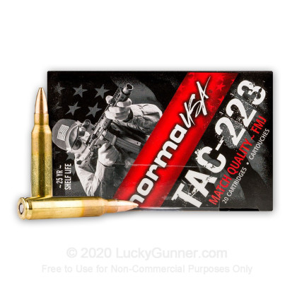 Image 1 of Norma .223 Remington Ammo