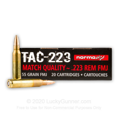 Image 2 of Norma .223 Remington Ammo
