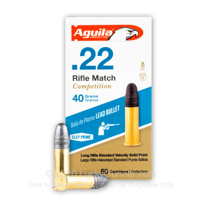 Image 2 of Aguila .22 Long Rifle (LR) Ammo