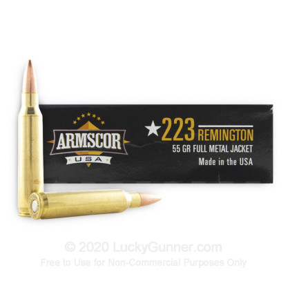 Image 2 of Armscor .223 Remington Ammo