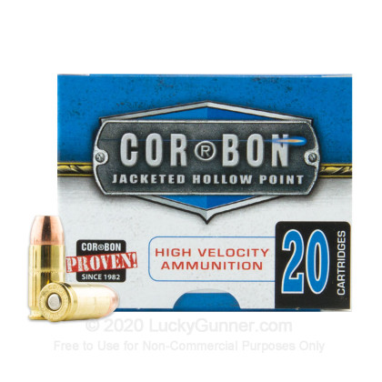 Image 2 of Corbon 9mm Luger (9x19) Ammo