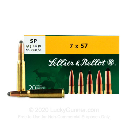 Image 1 of Sellier & Bellot 7x57 Mauser Ammo