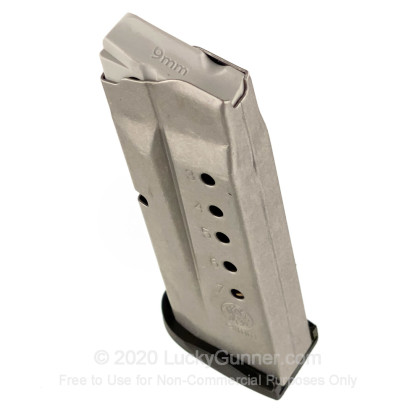 Large image of Smith & Wesson M&P 9 Shield 7rd - 9mm - Black - Magazine For Sale