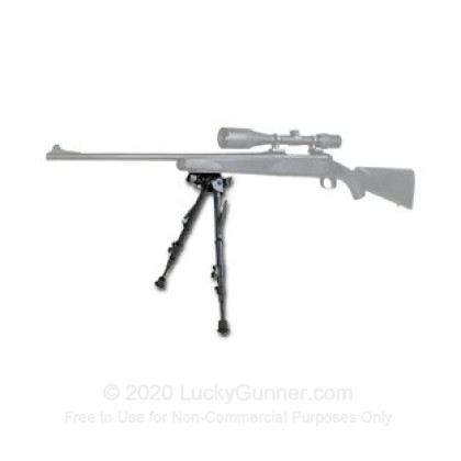 Large image of Champion Pivot Rifle Bipod - 6-9in - Black