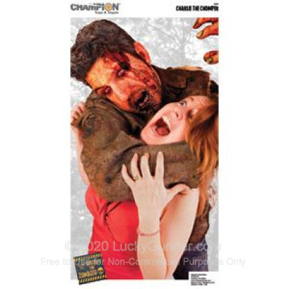 Large image of Champion Zombie Charlie The Chomper Targets For Sale - Zombie Targets In Stock