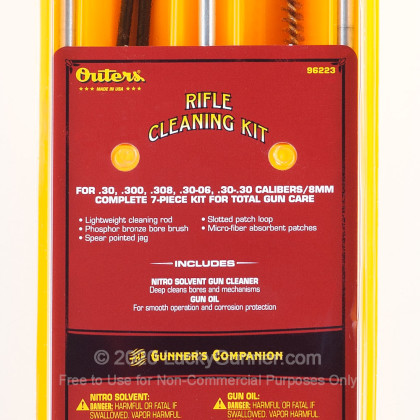 Large image of Outers 96223 30 Caliber Rifle Cleaning Kit For Sale