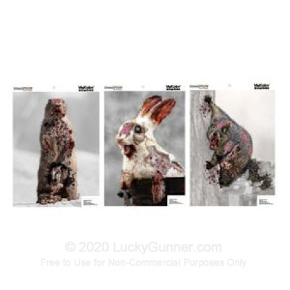 Large image of Champion VisiColor Zombie Cute Animals Targets For Sale - Reactive Indicator Targets In Stock