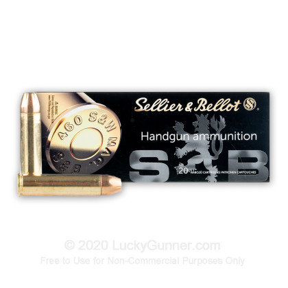 Image 2 of Sellier & Bellot .460 Smith & Wesson Ammo